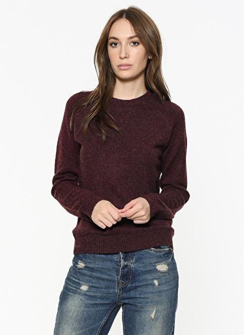Vero Moda Bluz Bordo